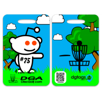 "Bag Tag ""dgtag"""